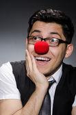 Homme d'affaires drôle — Photo