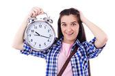 Student failing to meet deadlines — Stok fotoğraf