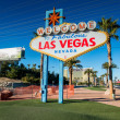 Famous Las Vegas sign — Stock Photo #45808295