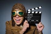 Piloto gracioso — Foto de Stock