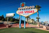 Famous Las Vegas sign — Stock Photo