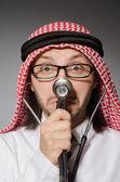 Funny arab doctor — Photo