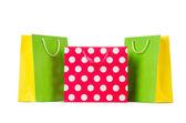 カラフルなショッピング バッグ — ストック写真