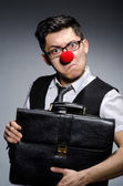 Funny businessman — Foto Stock