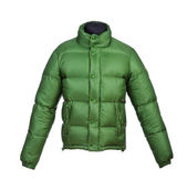Male winter jacket — Stock Photo