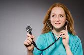 Γυναίκα γιατρός — Φωτογραφία Αρχείου