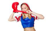 Boxer divertenti — Foto Stock