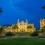 Monte Carlo casino in Moncao — Stock Photo #47053375