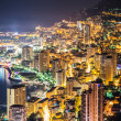 Night view of Monaco — Stock Photo #47053671