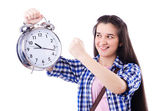 Student failing to meet deadlines — Stock Photo