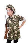 Funny soldato — Foto Stock