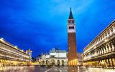 Piazza san marco in venetië — Stockfoto
