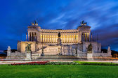 Monument of Victor Emmanuel — Stock Photo