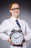 žena doktor — Stock fotografie