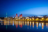 Baku Azerbaijan — Stock Photo