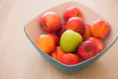 Fruits in the bowl — Stock Photo