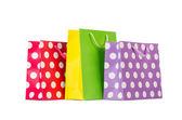 Coloridos bolsos de compras — Foto de Stock