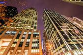 Tall skyscrapers — Stock Photo
