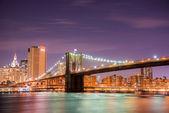 Brooklyn bridge — Stockfoto