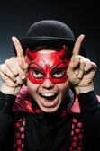 Funny devil — Stock Photo