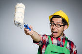 Funny painter — Stock Photo