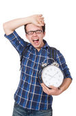 Student missing  deadlines — Stock Photo