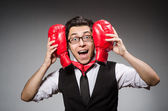Empresario de boxeador — Foto de Stock