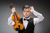 Giocatore di violino — Foto Stock