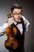 Violin player — Stock Photo