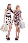 Women in shopping concept — Stok fotoğraf