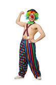 Funny clown — Fotografia Stock
