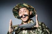 Legrační voják — Stock fotografie
