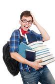 Funny student — Stock Photo