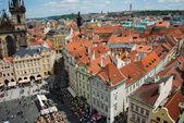 Rooftops in Prague — Foto Stock