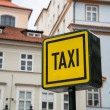 Taxi sign — Stock Photo #49030263