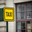 Taxi sign — Stock Photo #49030293