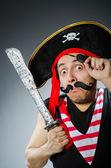 Funny pirate — Stock Photo