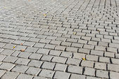 Old road paved — Stock Photo