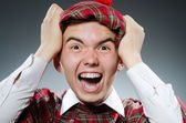 Funny scotsman — Stock Photo