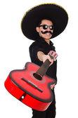Fötr şapka ile komik Meksika — Stok fotoğraf