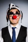 Uomo d'affari divertenti — Foto Stock