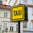 Taxi sign — Stock Photo #49394555