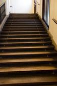 Trap in gebouw — Stockfoto