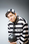 Funny prison inmate — Stock Photo