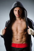Martial arts fighter — Stockfoto