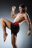 Ripped martial arts expert — Stock Photo