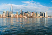 Manhattan downtown — Stock Photo