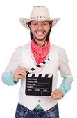 Cowboy isolated — Stock Photo
