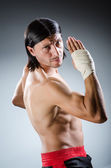 Ripped martial arts expert — ストック写真