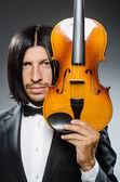 小提琴手 — 图库照片